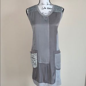 Buy 2 Get 1 FREE! Simply Couture silky grey dress